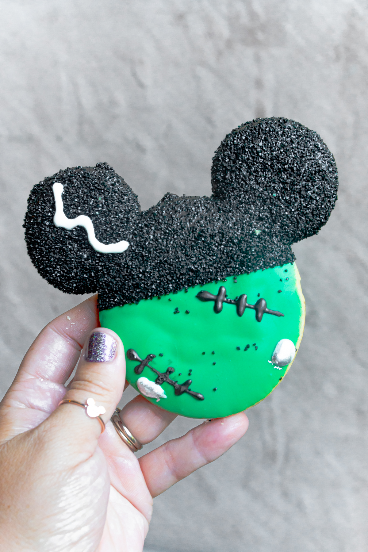 Mickey Frankenstein cookie