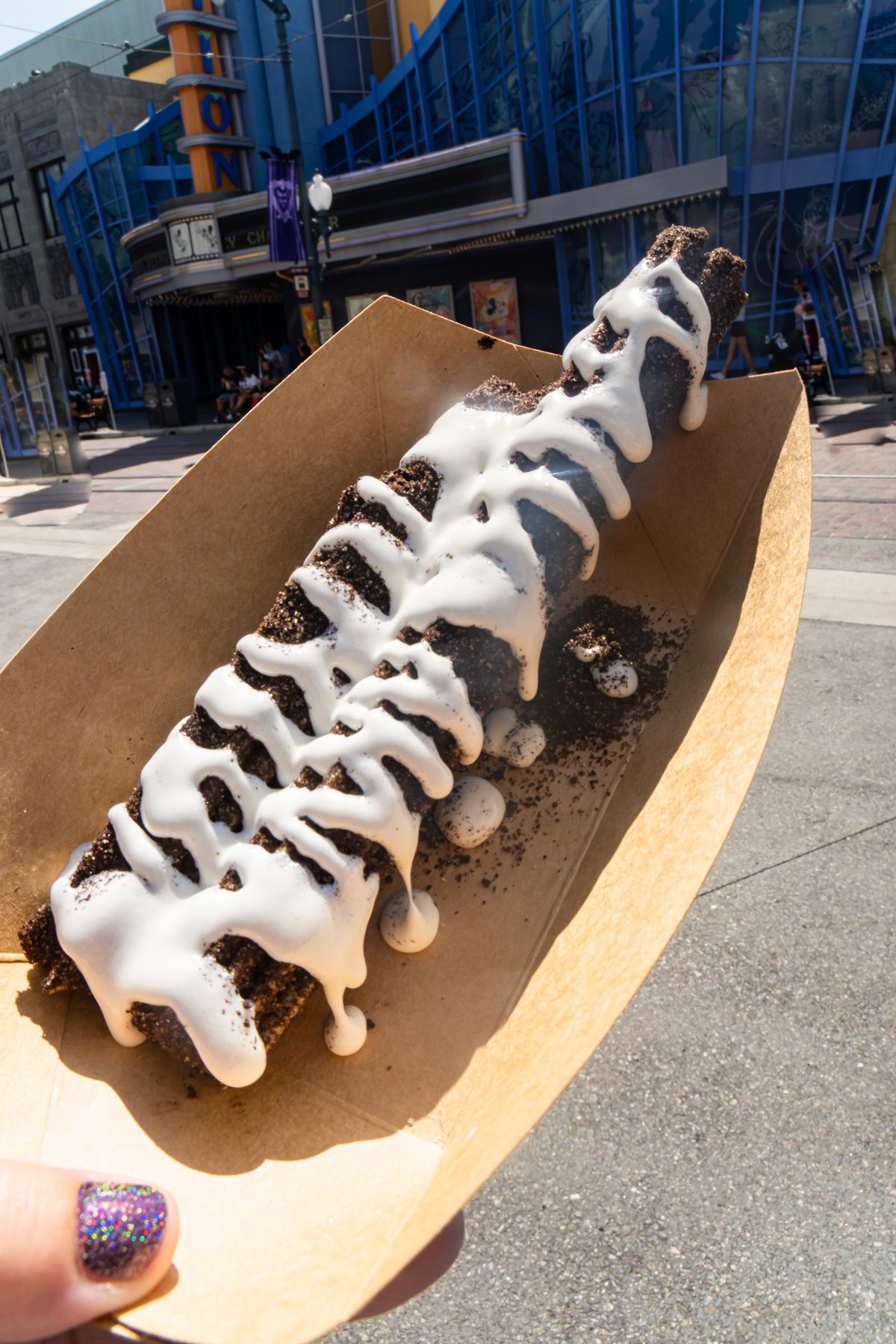 chocolate marshmallow churro at Disneyland