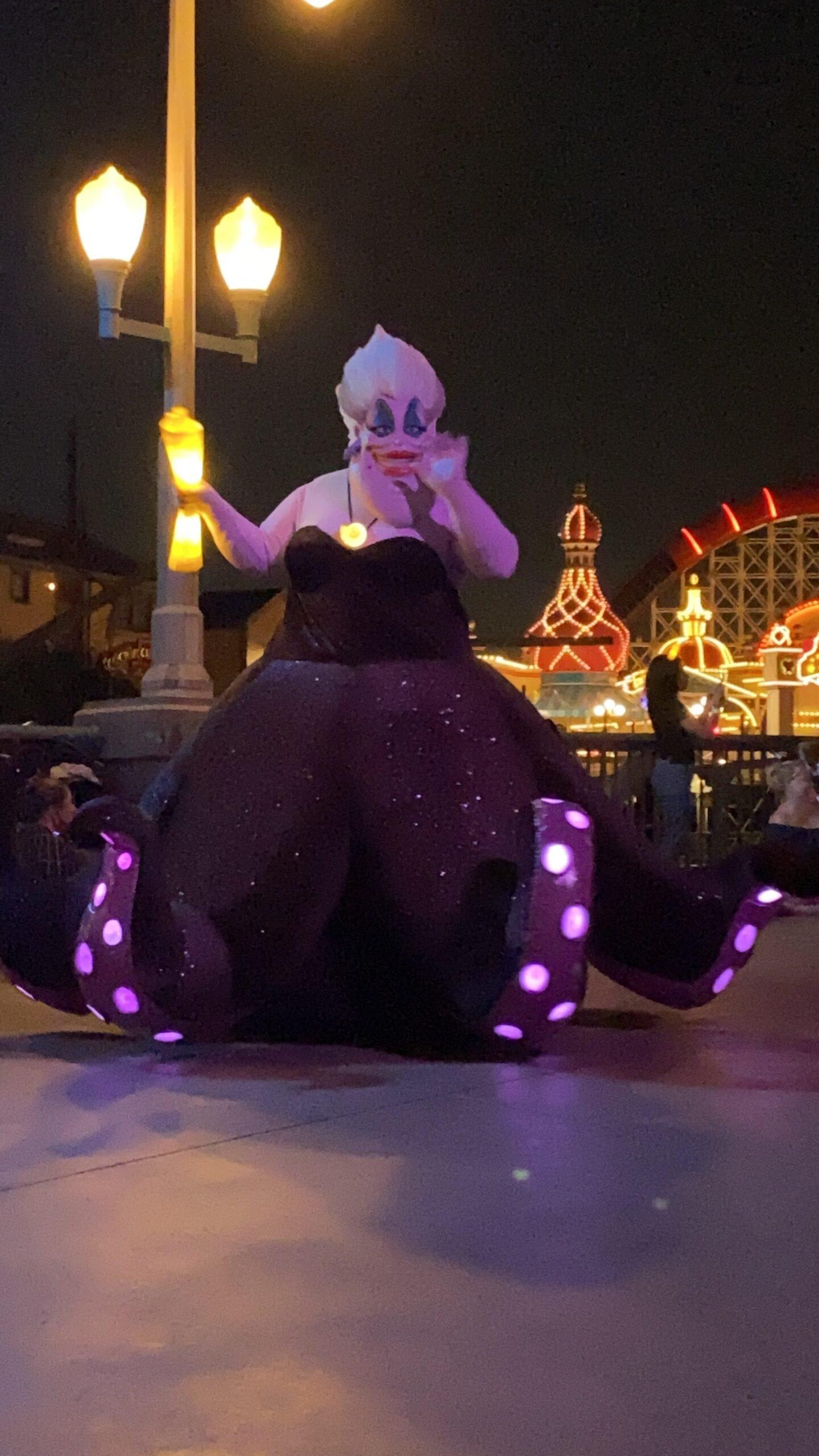 Ursula in Disney's California Adventure