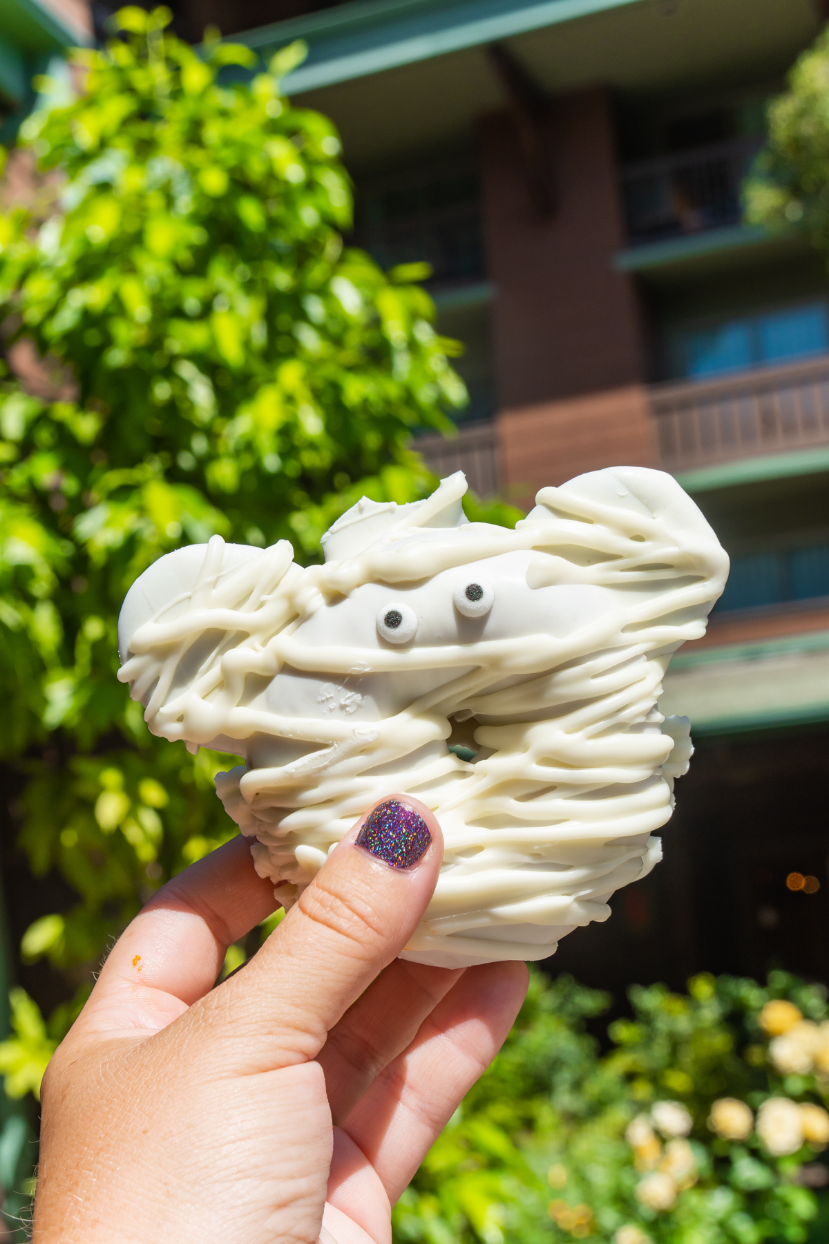 mummy mickey donut at Grand Californian Hotel