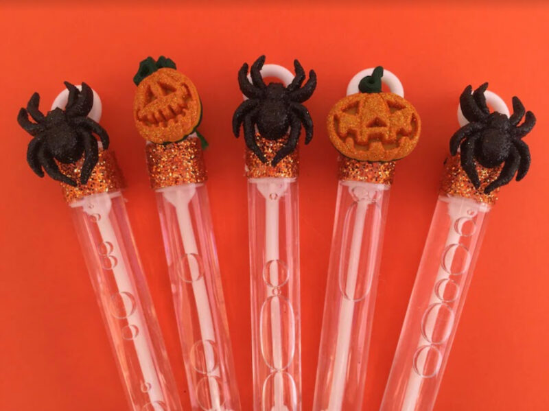 Halloween bubble wands