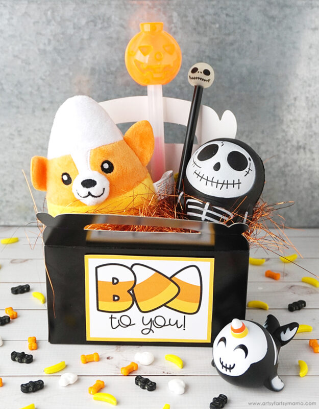 Halloween boo gift box