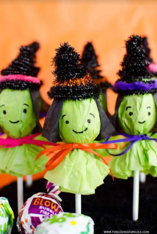 witch lollipops