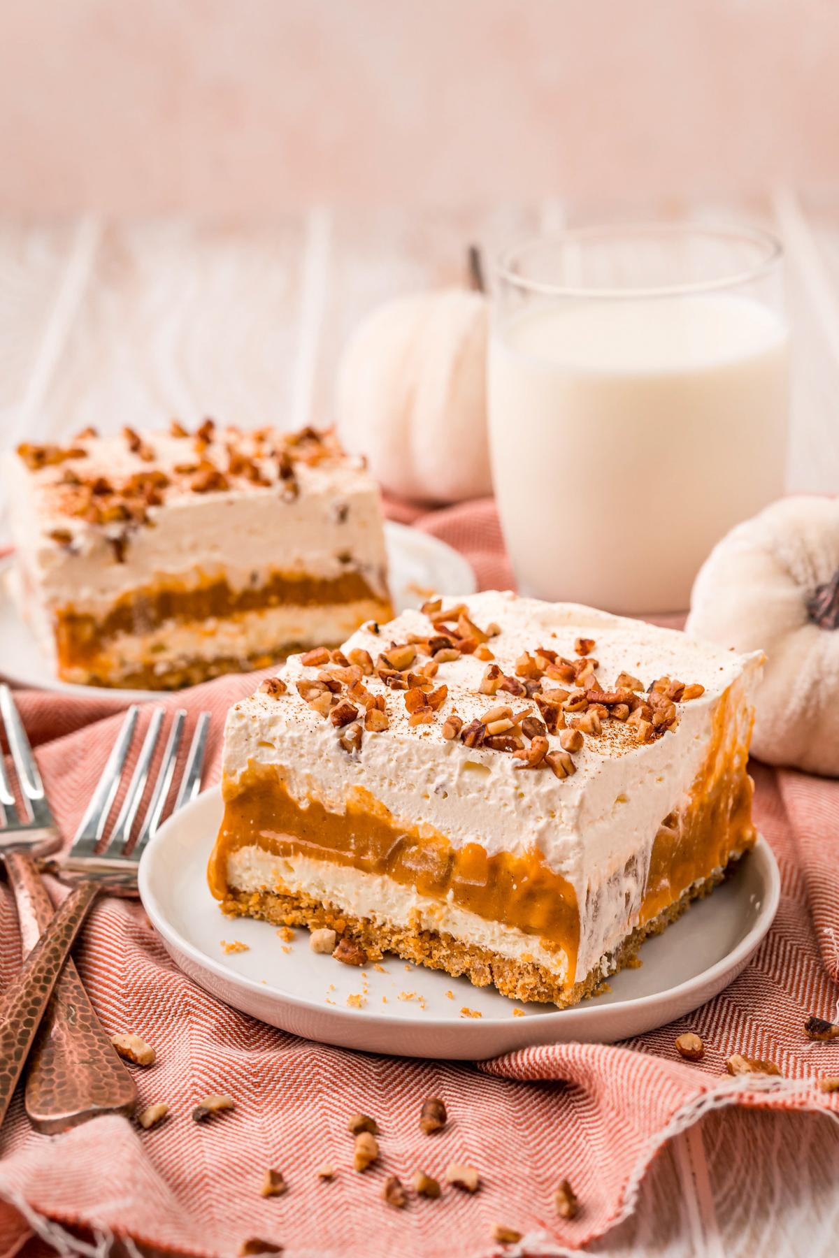 slice of pumpkin delight