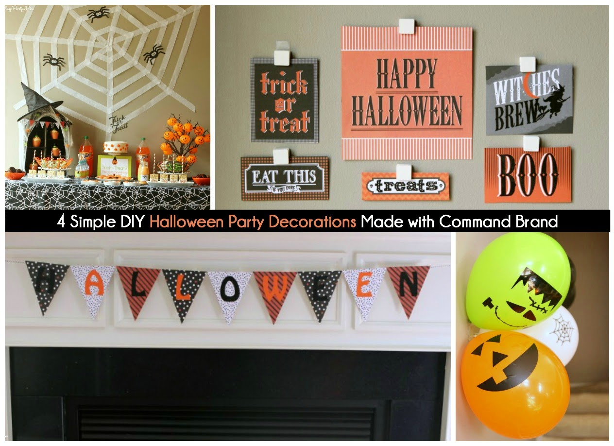 halloween party ideas diy easy halloween party decoration ideas play party plan